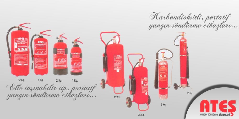 Ateş Yangın Söndürme Sistemleri, Yangın Söndürme Tüpü
