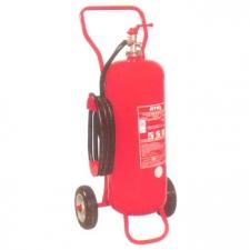 Tekerlekli Yangın Söndürme Tüpü 25 Kg